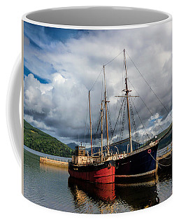 Clyde Puffer Coffee Mug by Lynn Bolt