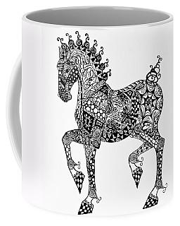 Clydesdale Foal - Zentangle Coffee Mug