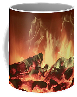 Coffee Mug featuring the photograph C'mon Baby Light My Fire by Ericamaxine Price
