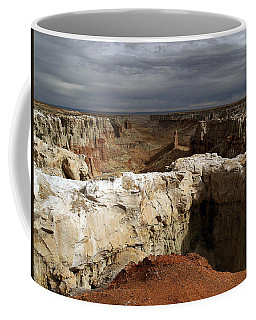 Coffee Mug featuring the photograph Coal Mine Mesa 08 by Jeff Brunton