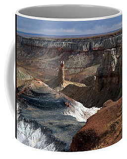 Coffee Mug featuring the photograph Coal Mine Mesa 09 by Jeff Brunton