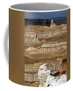Coffee Mug featuring the photograph Coal Mine Mesa 19 by Jeff Brunton