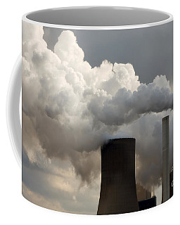 Coal Power Station Blasting Away Coffee Mug