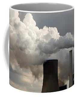 Coal Power Station Blasting Away Coffee Mug