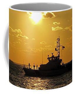 Coast Guard In Paradise - Key West Coffee Mug