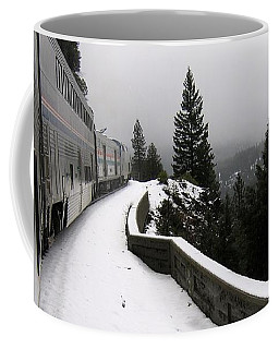 Coast Starlight In The Mountains Coffee Mug