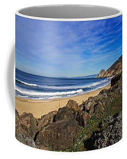 Coffee Mug featuring the photograph Coastal Beauty by Dave Files