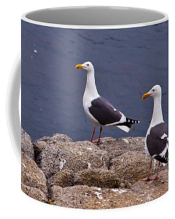 Coastal Seagulls Coffee Mug by Melinda Ledsome