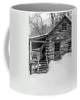 Slayton Pasture Cobber Cabin Trapp Family Lodge Stowe Vermont Coffee Mug