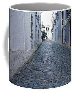 Coffee Mug featuring the photograph Cobble Street by David S Reynolds