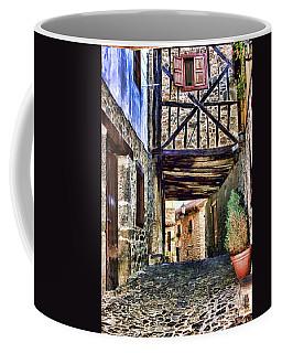 Cobble Streets Of Potes Spain By Diana Sainz Coffee Mug