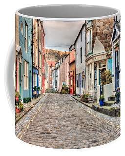 Coffee Mug featuring the photograph Cobbled Street by Susan Leonard