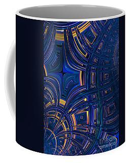 Cobolt Plates Coffee Mug