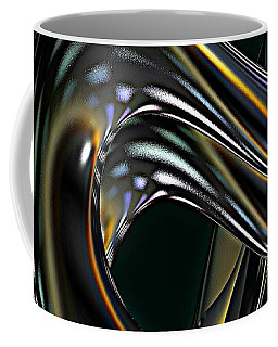 Coffee Mug featuring the digital art Cobra by Greg Moores