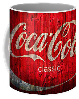 Coca Cola Barn Coffee Mug