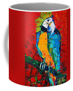 Coco The Talkative Parrot Coffee Mug