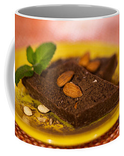 Coconut Almond Squares Coffee Mug