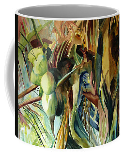 Coconuts And Palm Fronds 5-16-11 Julianne Felton Coffee Mug