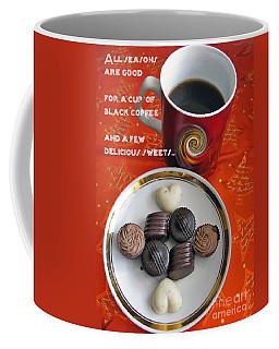 Coffee Mug featuring the photograph Coffee Season by Ausra Huntington nee Paulauskaite