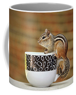 Coffee With Chipper The Chipmunk Coffee Mug