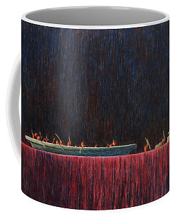 Coffee Mug featuring the painting Coffer by A  Robert Malcom