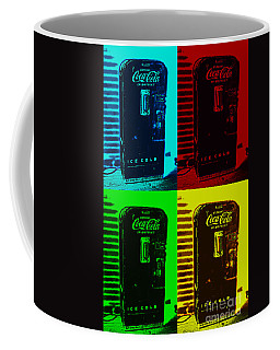 Coke Poster Coffee Mug by Kevin Fortier