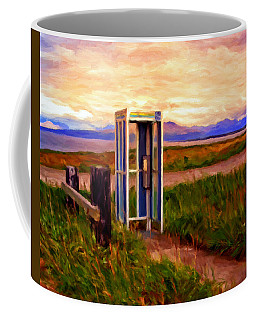 Cold Bay Ferry Service Coffee Mug