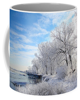 Cold Frosty Morning Coffee Mug