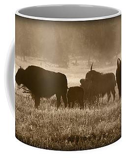 Cold Misty Morning Coffee Mug