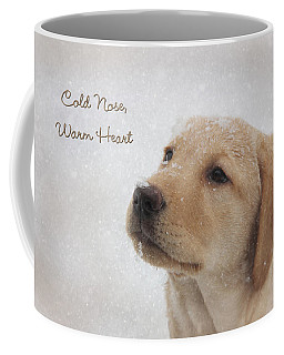 Cold Nose Warm Heart Coffee Mug by Lori Deiter