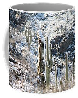 Cold Saguaros Coffee Mug