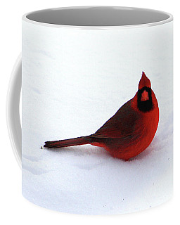 Coffee Mug featuring the photograph Cold Seat by Alyce Taylor