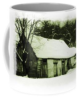 Countryside Winter Scene Coffee Mug