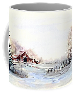 Cold Winter Coffee Mug by Dorothy Maier