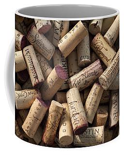 Collection Of Fine Wine Corks Coffee Mug