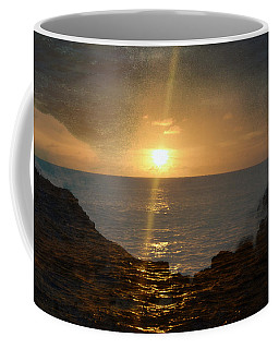 Colliding Sunset Coffee Mug