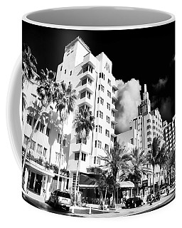 Collins Avenue Coffee Mug by John Rizzuto
