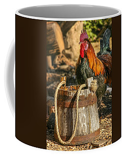 Coloful Rooster 2 Coffee Mug by Mary Almond