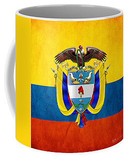 Colombia Coat Of Arms And Flag  Coffee Mug