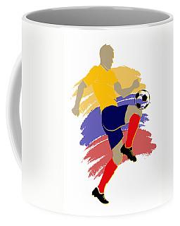 Colombia Soccer Player Coffee Mug