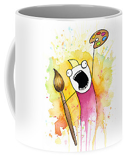 Color All The Water Coffee Mug