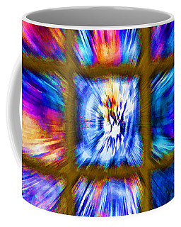 Color Burst - Horizontal Layout Coffee Mug