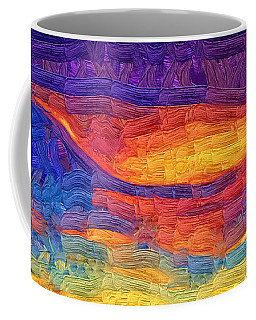 Coffee Mug featuring the digital art Color Explosion by Kirt Tisdale