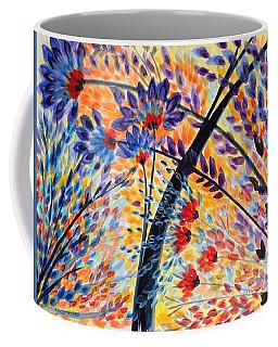 Color Flurry 3 Coffee Mug by Holly Carmichael