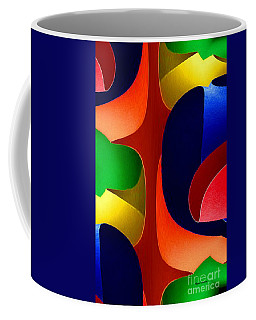 Coffee Mug featuring the digital art Color Maze by Rafael Salazar