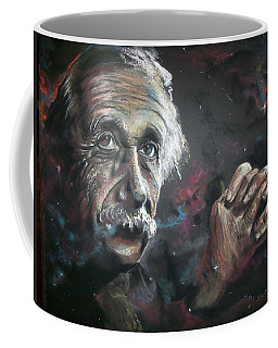 Coffee Mug featuring the pastel Color My Universe by Peter Suhocke