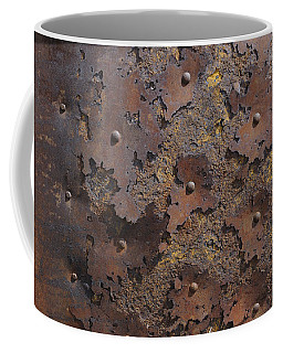 Color Of Steel 2 Coffee Mug by Fran Riley