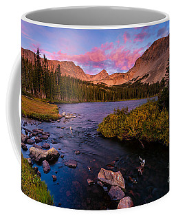 Color Over  Indian Peaks Coffee Mug by Steven Reed