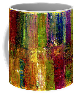 Color Panel Abstract Coffee Mug