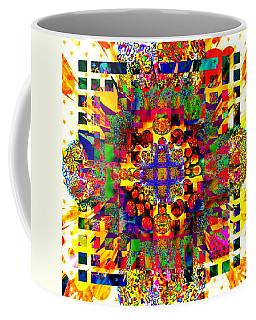 Color Splash Squared Coffee Mug